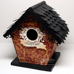 Welcome Birdhouse by: Kazan Clark