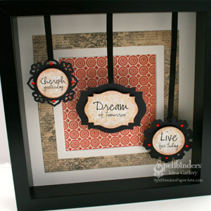 Cherish Shadow Box by: Gina Hanson