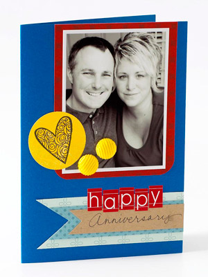 Favorite photo anniversary card