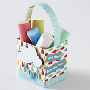 April Showers basket