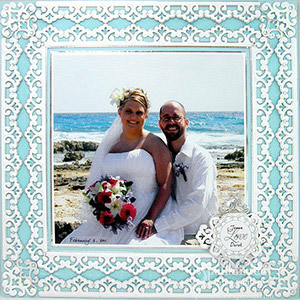 Beach Wedding by Judy Hayes