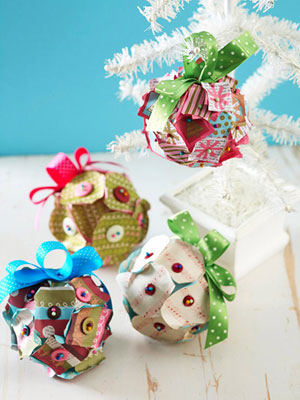 Patchwork Pin Ornaments