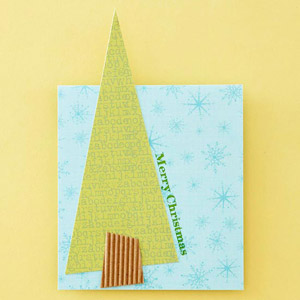Simple Tree Christmas Card