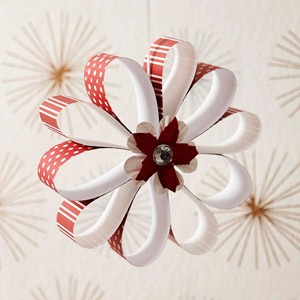 Festive Flower Ornament