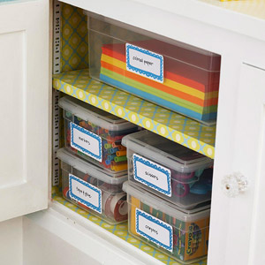 Clear Shelf Storage