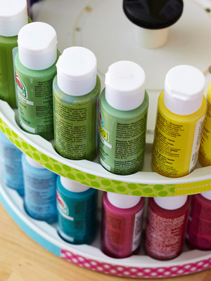 Crafts Paint Storage