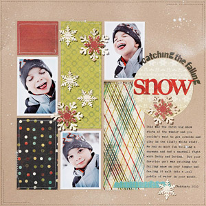 Falling Snow Page