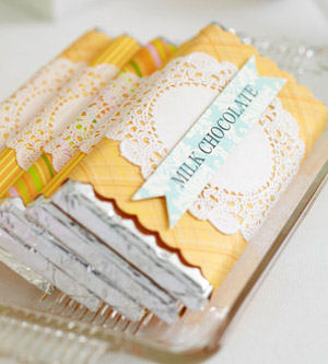 Candy Bar Wraps