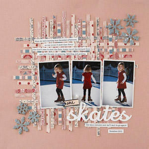 Woven Ice Skating Layout