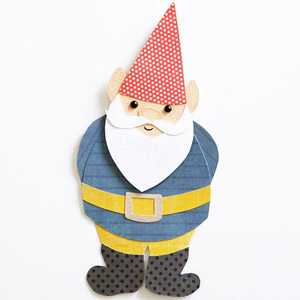 Gnome Paper-Piecing Pattern