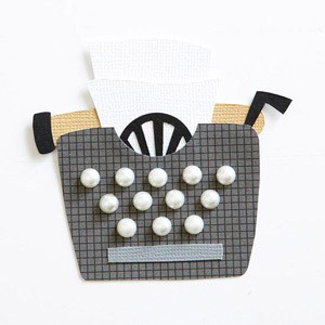 Typewriter Paper-Piecing Pattern