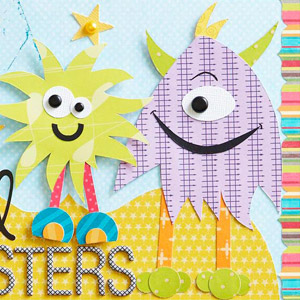 Monster Paper-Piecing Patterns