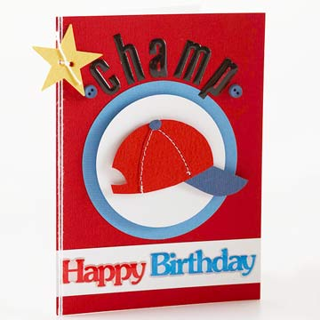 Birthday Cards for Kids: Sports Birthday Card