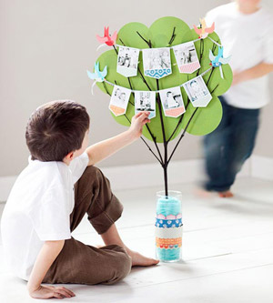Family Tree Centerpiece