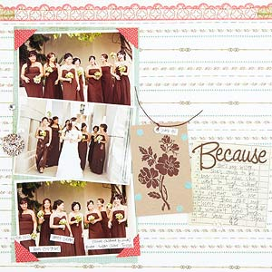 Bridal Party Layout