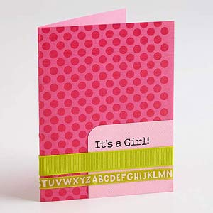 Printed Message Card