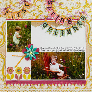 Spring Delights Page