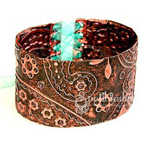 Copper Cuff by: Lesley Langdon