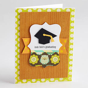 Look Hoo's Graduating Invite