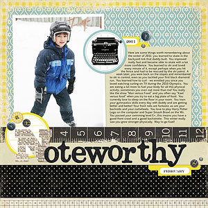 Noteworthy Boy Layout
