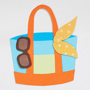 Beach Tote Paper-Piecing Pattern