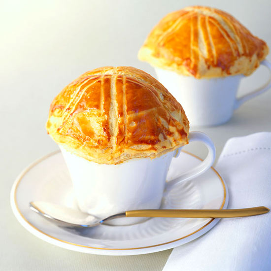 Roasted Tomato Soup En Croute