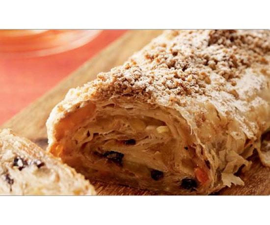 Healthy Dessert: Apple Strudel With Walnuts