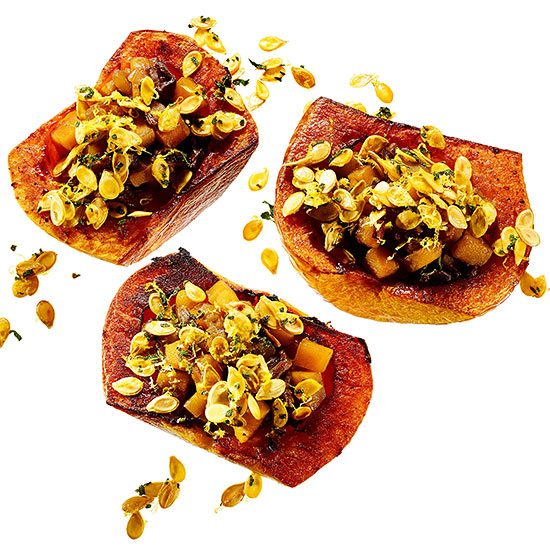 Mark Bittman's Stuffed Butternut Squash