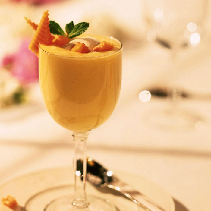 Mango-Carrot Mousse