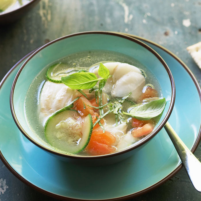 Traditional Fish Soup With Vegetables