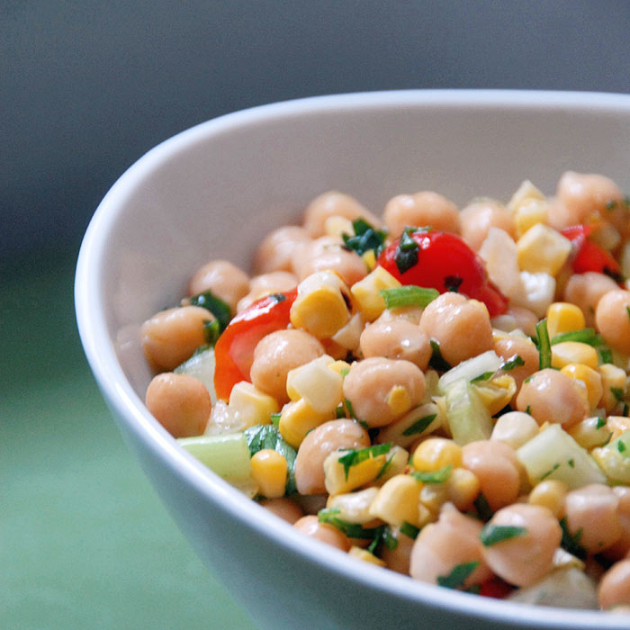 Asian Chickpea Bowl