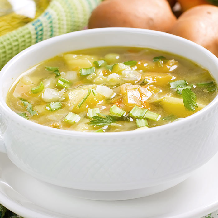 Soothing Garlic Soup