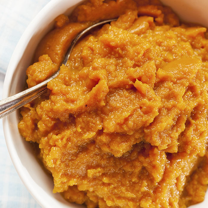 Chunky Squash & Potato Puree