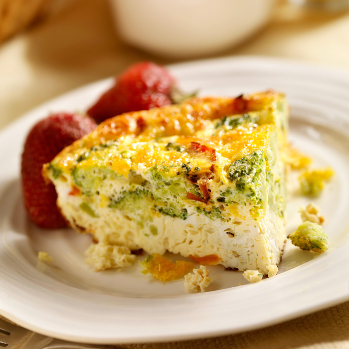 Cottage Cheese and Egg Custard