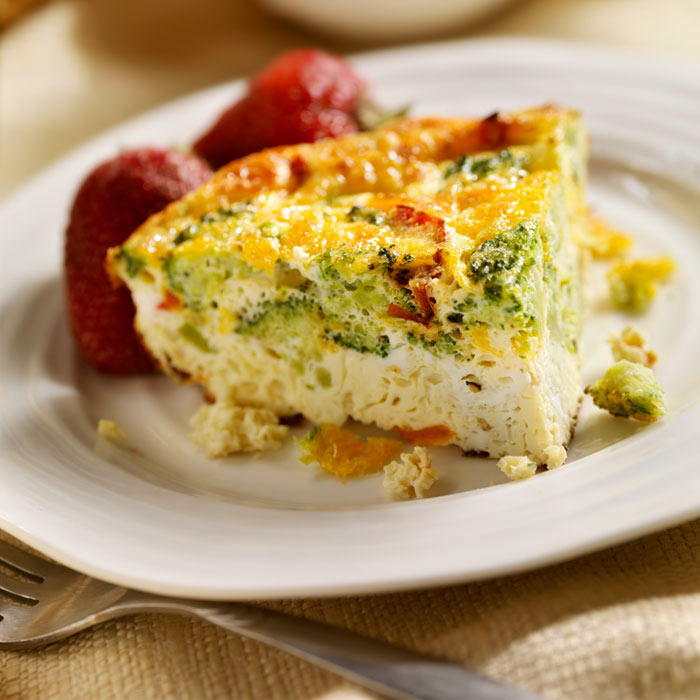 World's Fastest Veggie Frittata