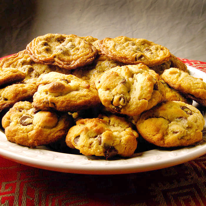 Katie Brown's Healthy Chocolate Chip Cookies