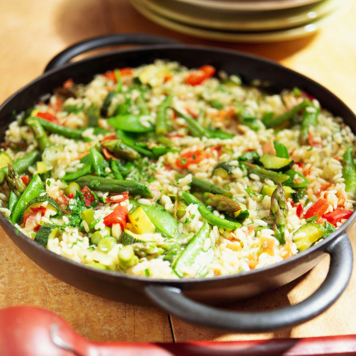 Vegetable and Brown Rice Paella