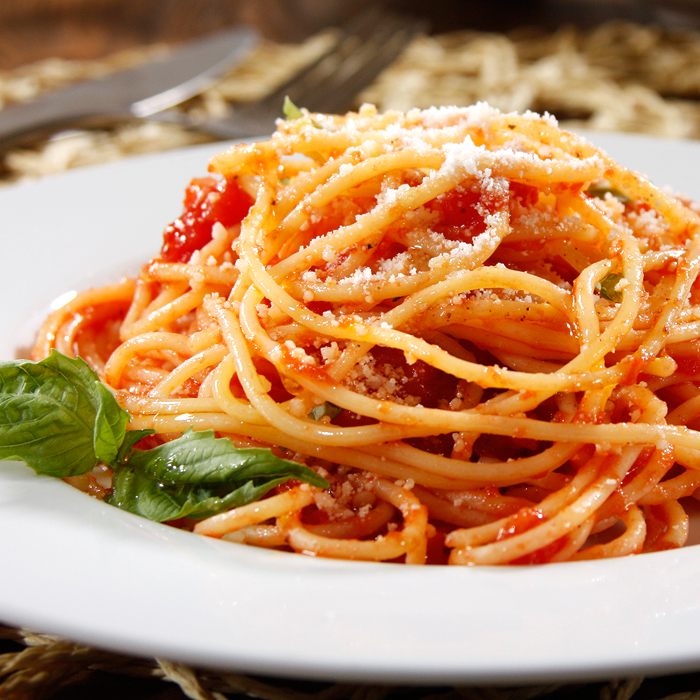 Barilla® Gluten Free Spaghetti with Tomatoes and Basil