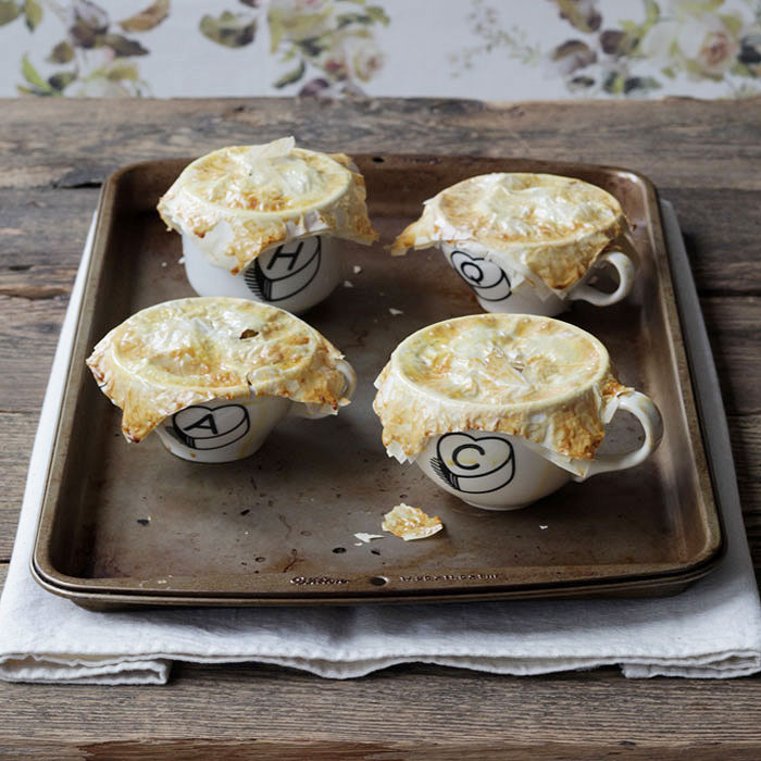 Mini Apple Pie Mugs