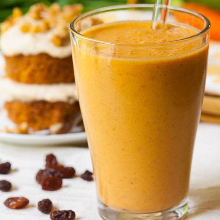 The Green Forks Carrot Cake Smoothie