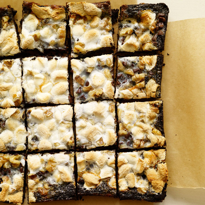 Gooey Rocky Road Bars