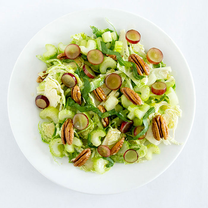 Shaved Brussel Sprouts Salad