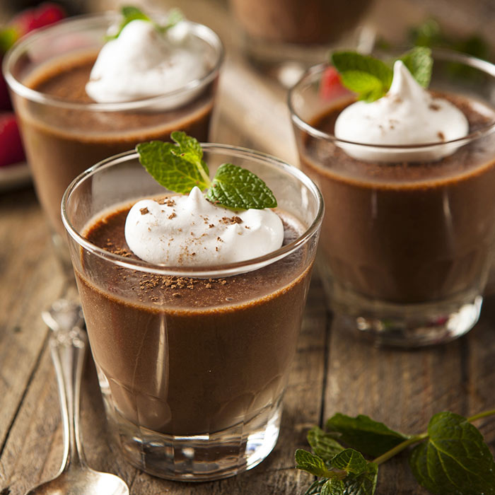 Low-Calorie Chocolate Mousse