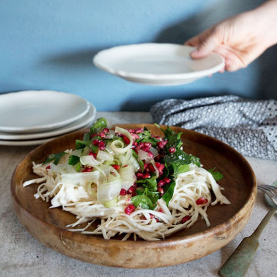 Celery Root Salad with Buttermilk Dressing