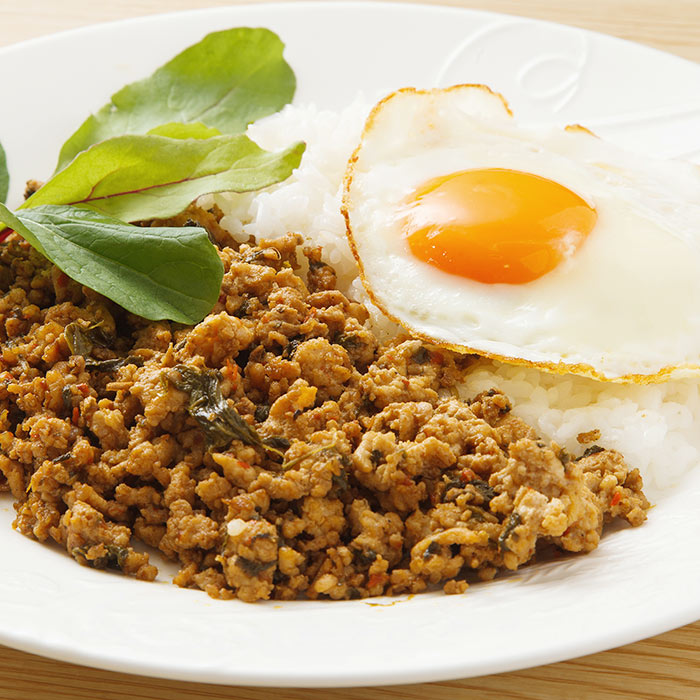 Toasted Sorghum with Shiitakes and Fried Eggs