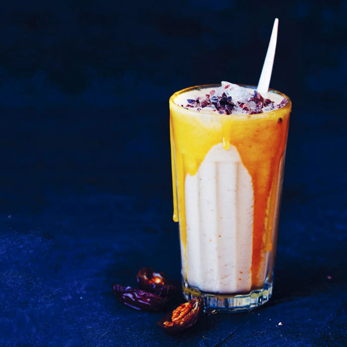 A Salted Caramel Protein Shake for Post-Workout Bliss