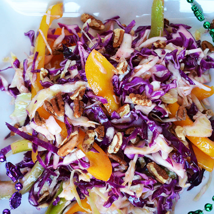 Sweet and Spicy Cajun Slaw