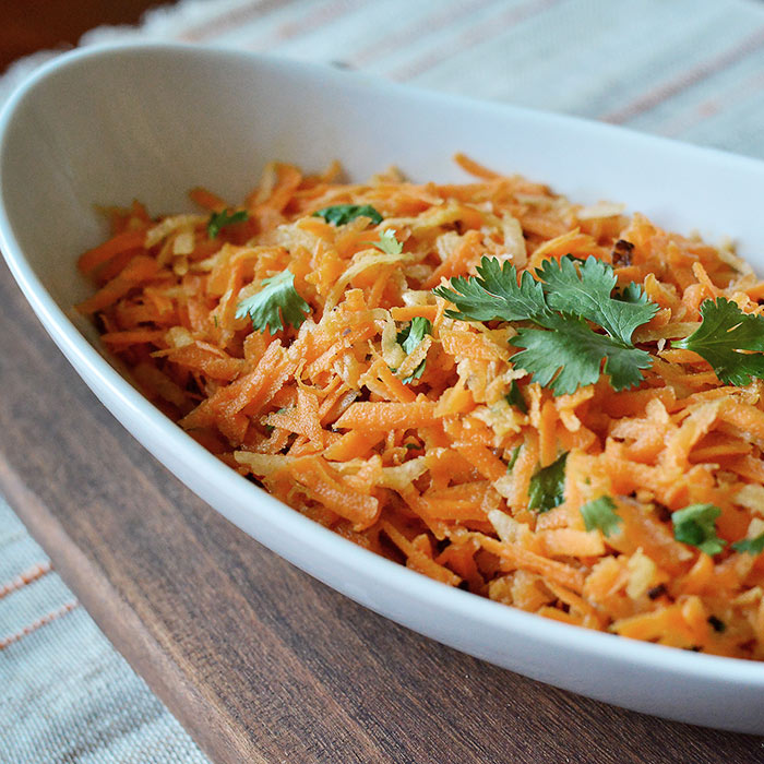 Carrot and Jicama Slaw