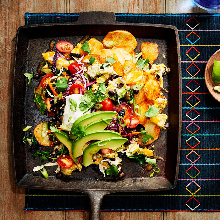 Healthy Breakfast Nachos
