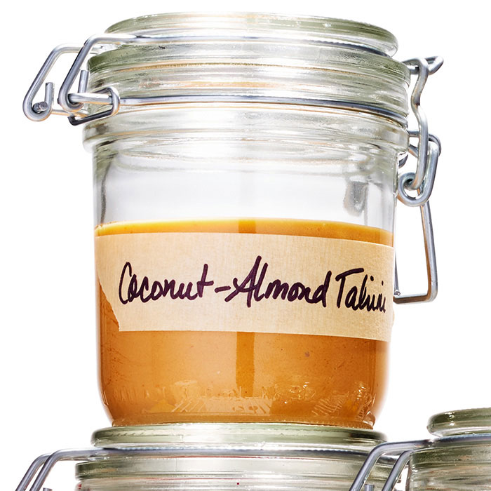 Coconut-Almond Butter Tahini